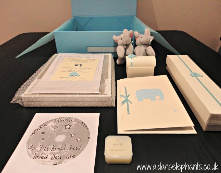 Aidan's Elephants Memory Boxes