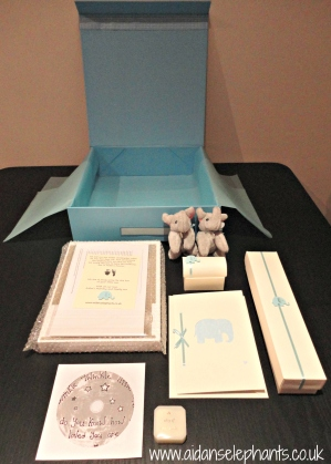 Contents of a Blue Box.