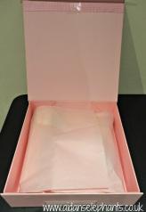 Inside a Pink Box.