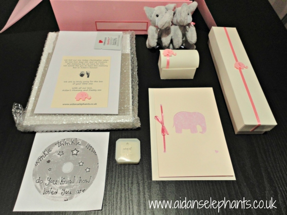 Contents of a Pink Box.