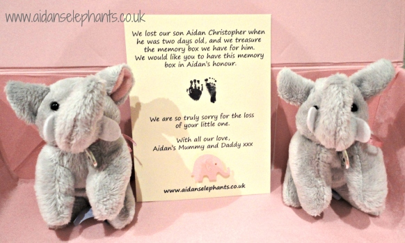 Aidan's Elephants with a little note from us.